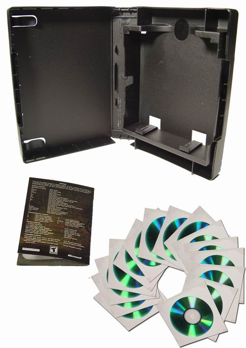 ACE Folio can store up to 15 sleeved discs plus a booklet easily.