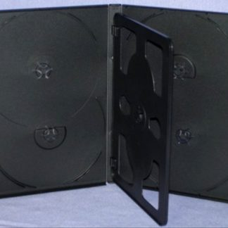 E5BT14 - 14mm DVD Case with Flip Tray for 5 Discs