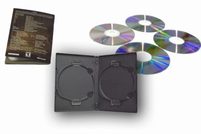 ACE Duo can store 4 discs plus booklet easily