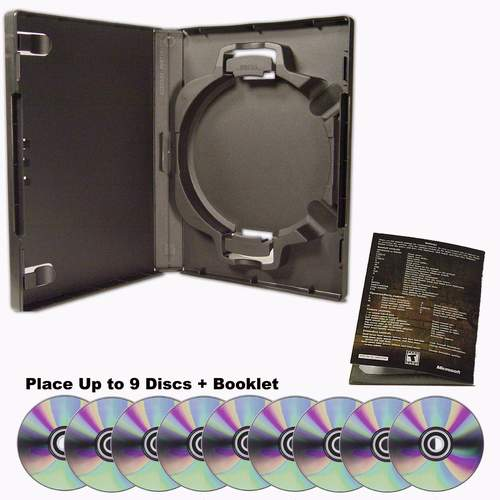 ACE Portfolio Case can hold up to 9 discs plus propaganda