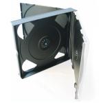 22mm CD Multi Case for 4 Discs