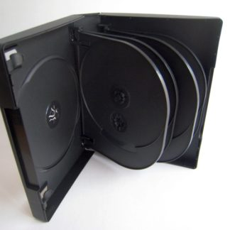 35mm DVD Case 10 Disc with 4x Flip Tray