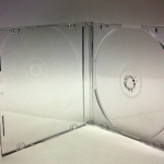 5.2mm CD Jewel Case Slim in Clear & Clear