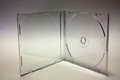 5.2mm CD Jewel Case Slim in Clear & Clear
