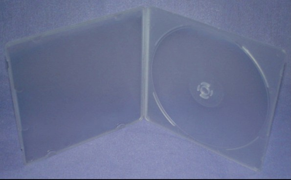5.2mm CD Poly Case for Single (1) Disc in Super Clear