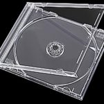 CD Jewel Case with Clear Tray Insert