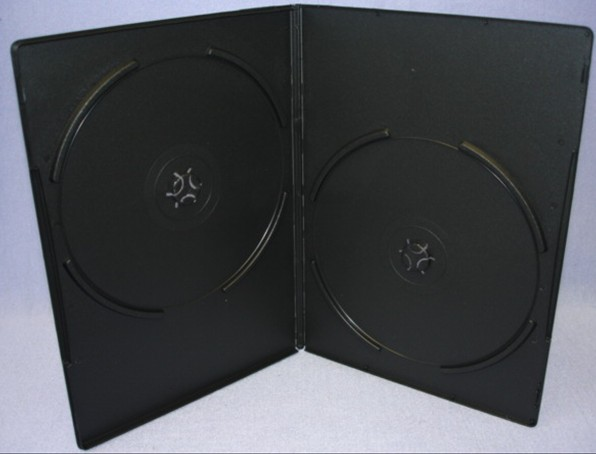 ESB02 - 7mm DVD Case Slim for Two Discs