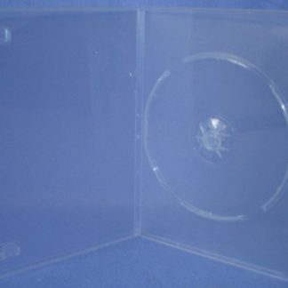 ESC01P - 7mm DVD Case Single Super Clear
