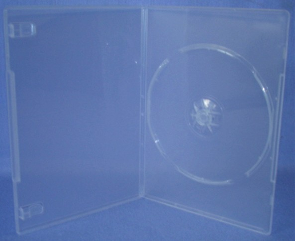 ESC01P - 7mm DVD Case Single Super Clear