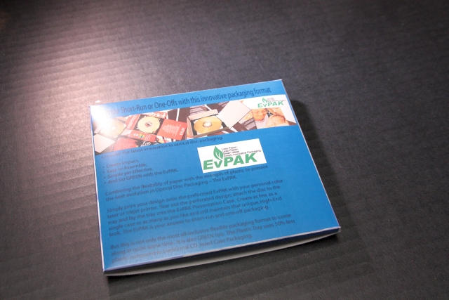 EvPAK - Tear off the excess from the Die-cut sheet once Printed