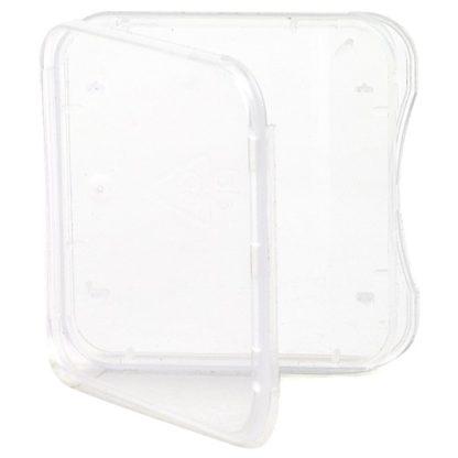 SD Card Case, Single Clear