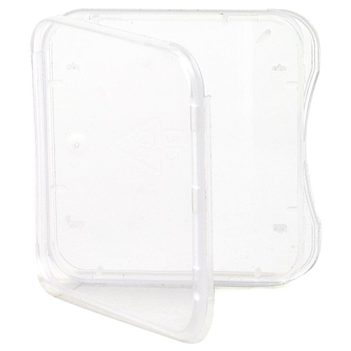 SD Card Case, Single Clear
