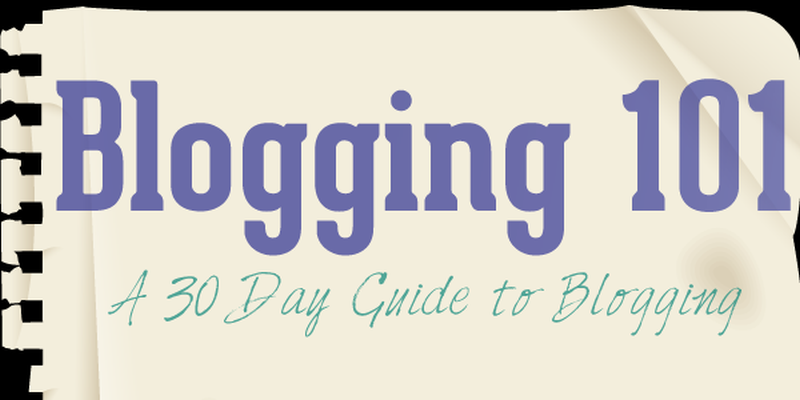 Blogging 101 for February 2015