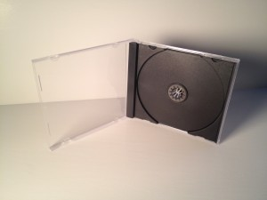 CD Jewel Case with Tray Insert