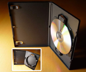 ACE Multi-case holds 1, 2 or 3 discs. ACE Library (insert) can hold up to 12 discs easily.