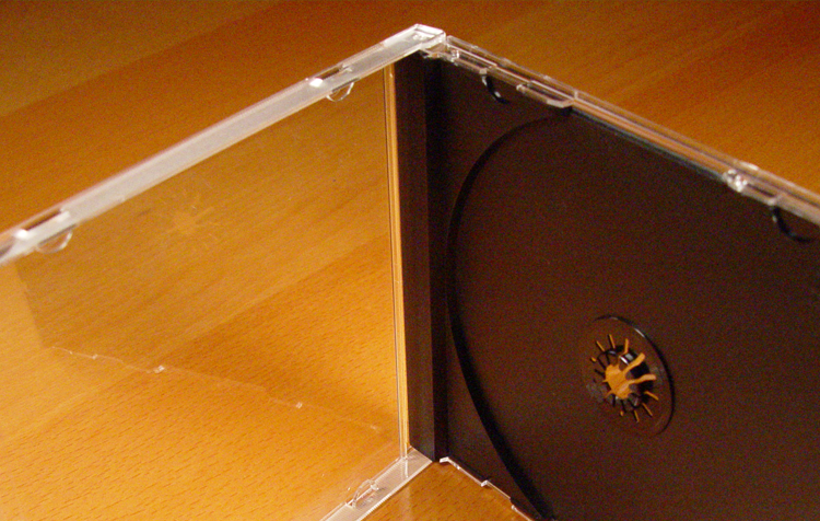 10.2mm CD Jewel Case + Tray Insert