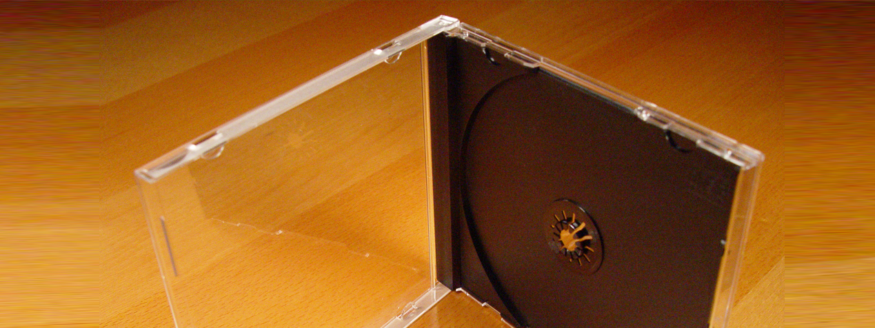 Product Spotlight:  the CD Jewel Case and Tray Insert