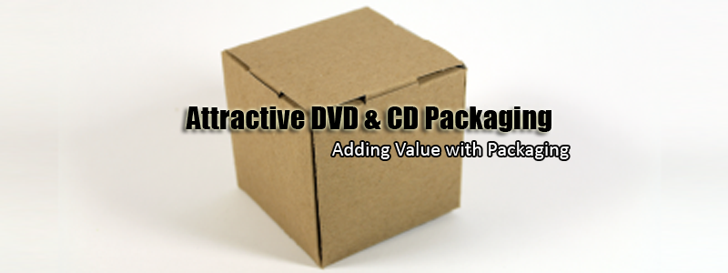 Attractive DVD & CD Packaging